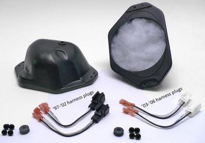 Dash-Pods (enclosures only '97-'02 TJ) SEL-DPE97025